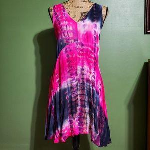{Love Riche} Magenta Swing Dress